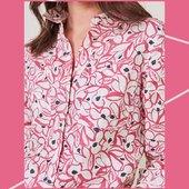 @whitestuffuk nous propose aussi ce joli petit chemisier en lin !  #whitestuff #chemisier #shop #collection2021 #été #couleurs   📧 article disponible sur le site 📧